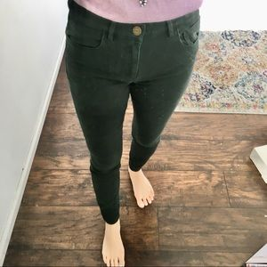 Loft - hunter green legging pants